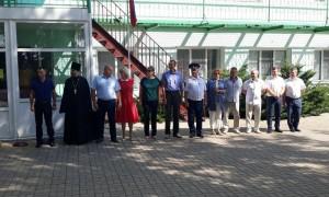 В оздоровительном лагере открылась «патриотическая смена»