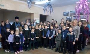 Посещение школы в Святочные дни