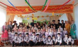 Посвящение в казачата прошло в детском саду