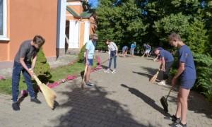 Начал свою работу православный отряд