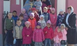 Воспитанники детского сада в храме