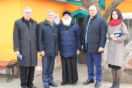 Посещение храма депутатом Госдумы
