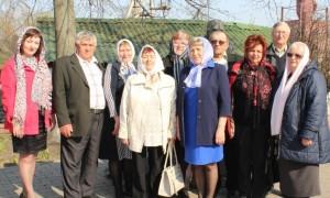 Члены общества слепых посетили храм