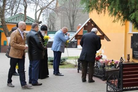 Встречали гостей из Москвы