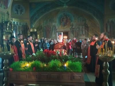 Молебен в день Светлого Христова Воскресения