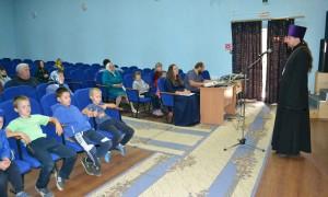 Встреча с жителями с. Зинаидино в день Рождества Пресвятой Богородицы