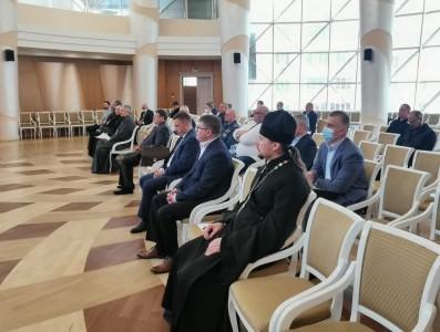 Клирик Свято-Никольского храма п. Ракитное принял участие в заседании Совета отцов Белгородской области