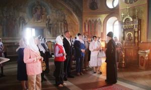 Участники заседания регионального Совета женщин посетили храм