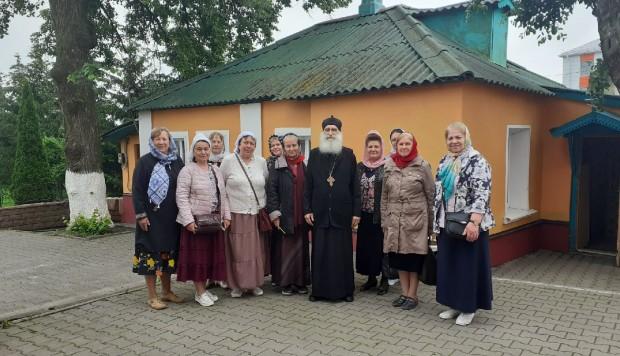 встречали гостей из санкт-петербурга и курска