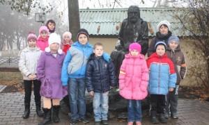 Учащиеся из Вязового в Ракитном