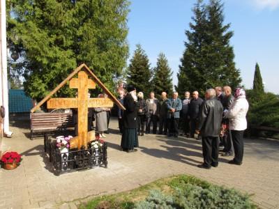 Участники ликвидации аварии на Чернобыльской АЭС посетили Свято-Никольский храм п. Ракитное