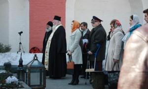 ПАНИХИДА В ДЕНЬ РОЖДЕНИЯ И.А.ИЛЬИНА