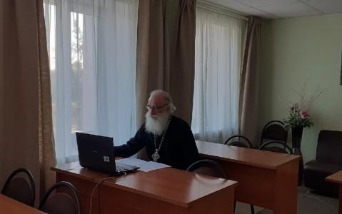 Клирик Губкинской епархии принял участие в ежегодных Митрофановских чтениях.