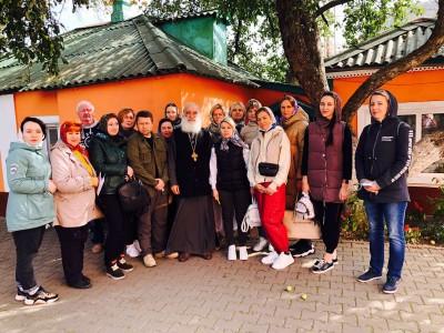 Храм посетили туристы из г. Белгород