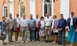 ПОСЕЩЕНИЕ ХРАМА РЕГИОНАЛЬНЫМ ОТДЕЛЕНИЕМ ДОСААФ РОССИИ
